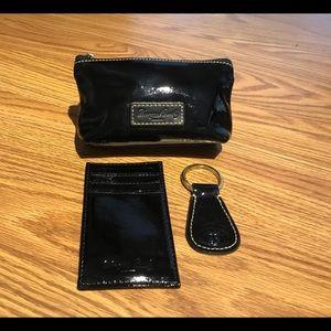 Foo yes & Bourke Black Patent 3-piece Gift Set
